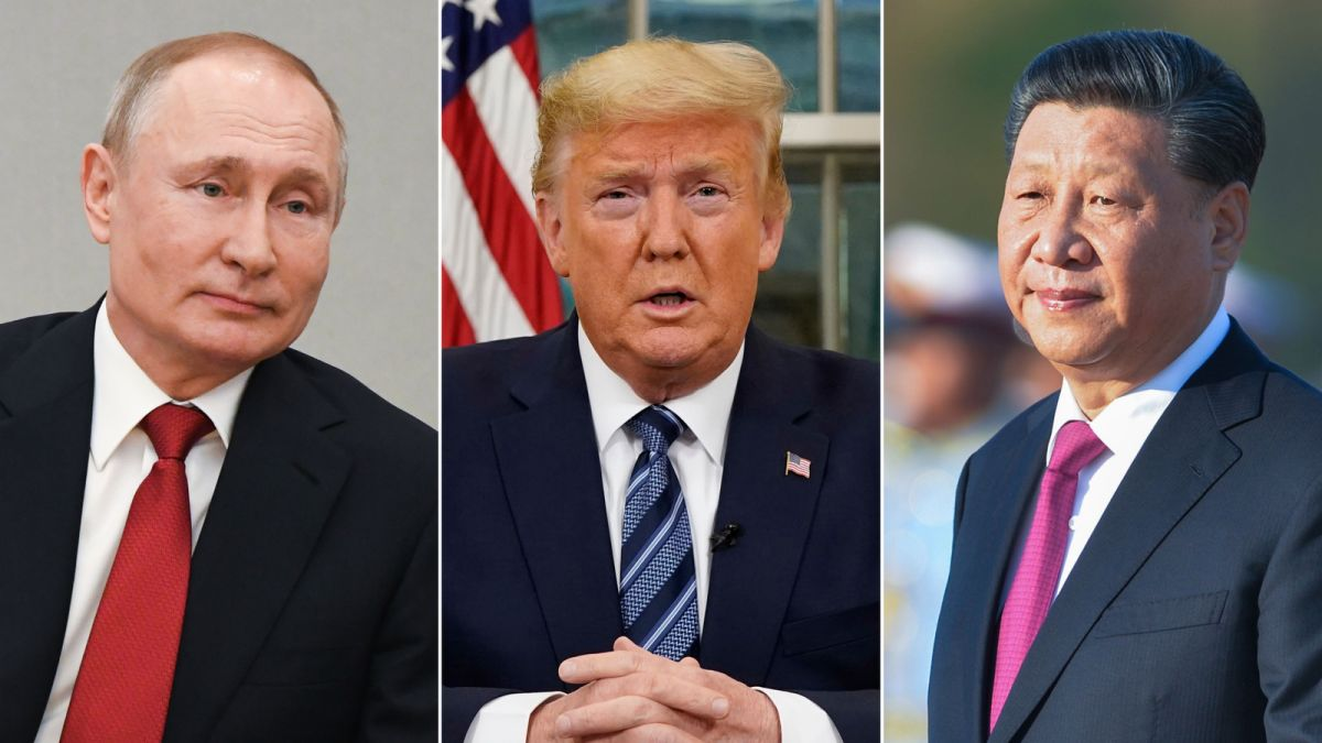 Putin And Xi Are Using The Coronavirus Crisis To Extend Their Control Across The World Trump Is Struggling To Keep Up Cnn