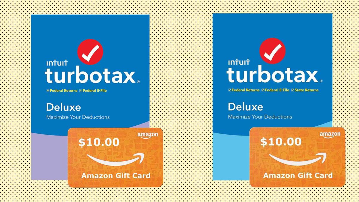 File Check Out Card turbotax sale: save on the tax software for one day, plus
