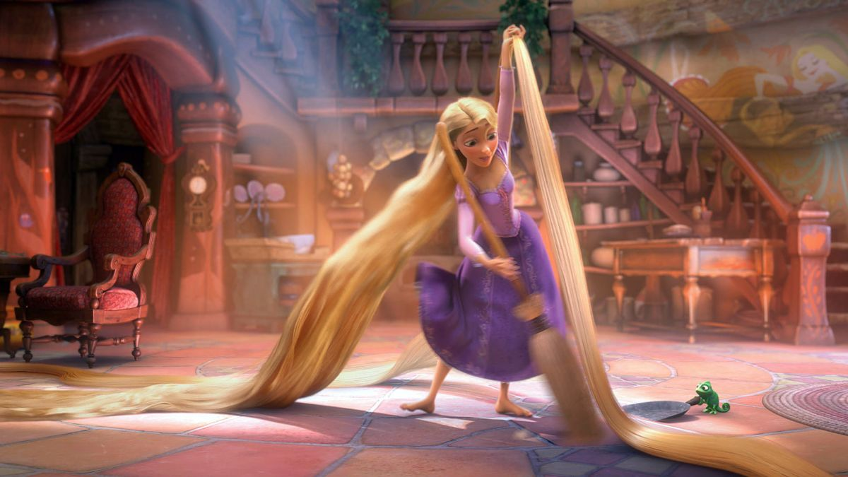 People Are Rewatching Tangled And Realizing She Was Literally Quarantined For 18 Years Cnn