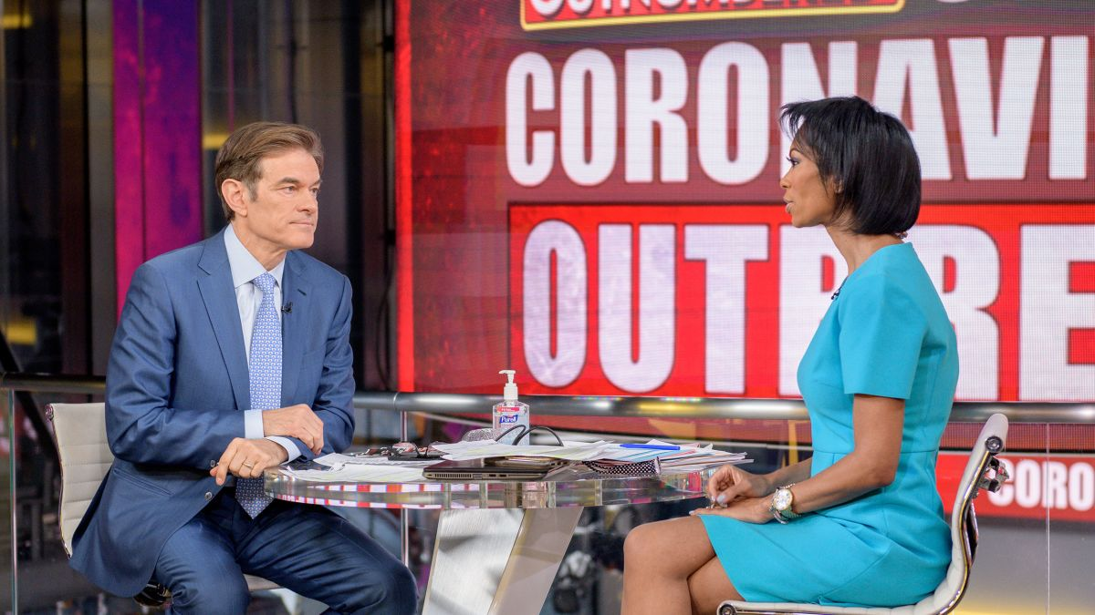 Dr Oz Catches Trump S Attention As He Pushes Unproven Drug To Fight Coronavirus Cnn