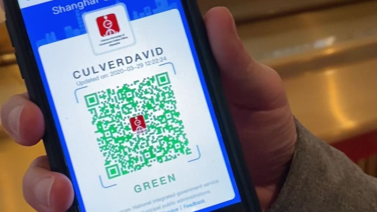 China is fighting the coronavirus with a digital QR code. Here's ...