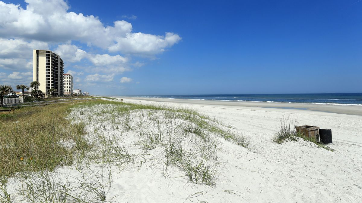 Jacksonville Beaches Reopen In Florida