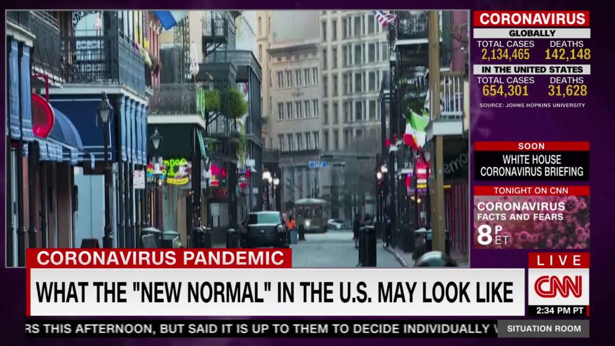 The New Normal Daily Life After Covid 19 Cnn Video
