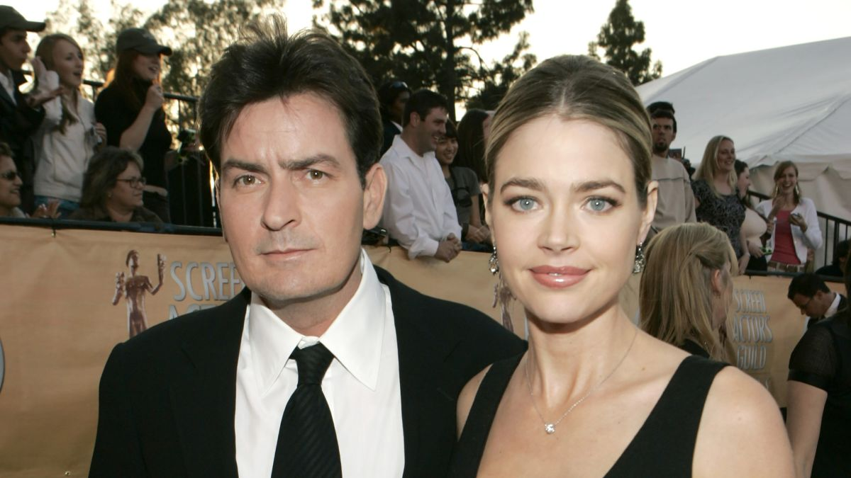 Denise Richards Talks Co Parenting With Charlie Sheen Cnn