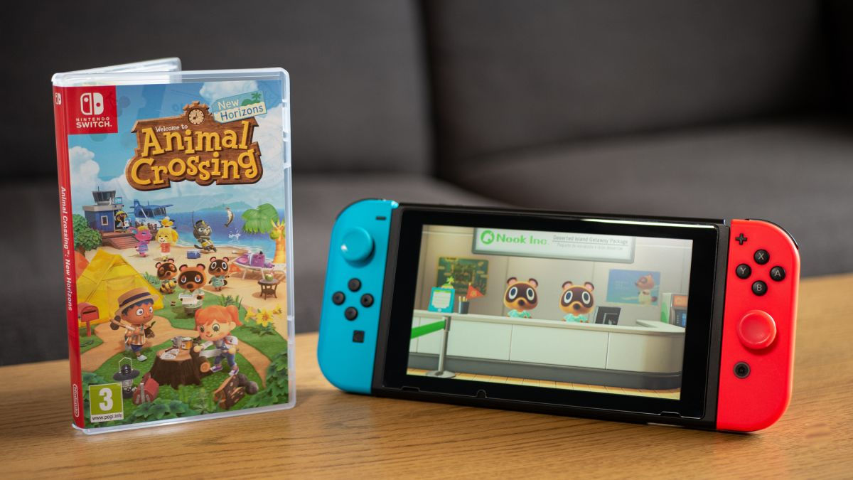 animal crossing switch console for sale