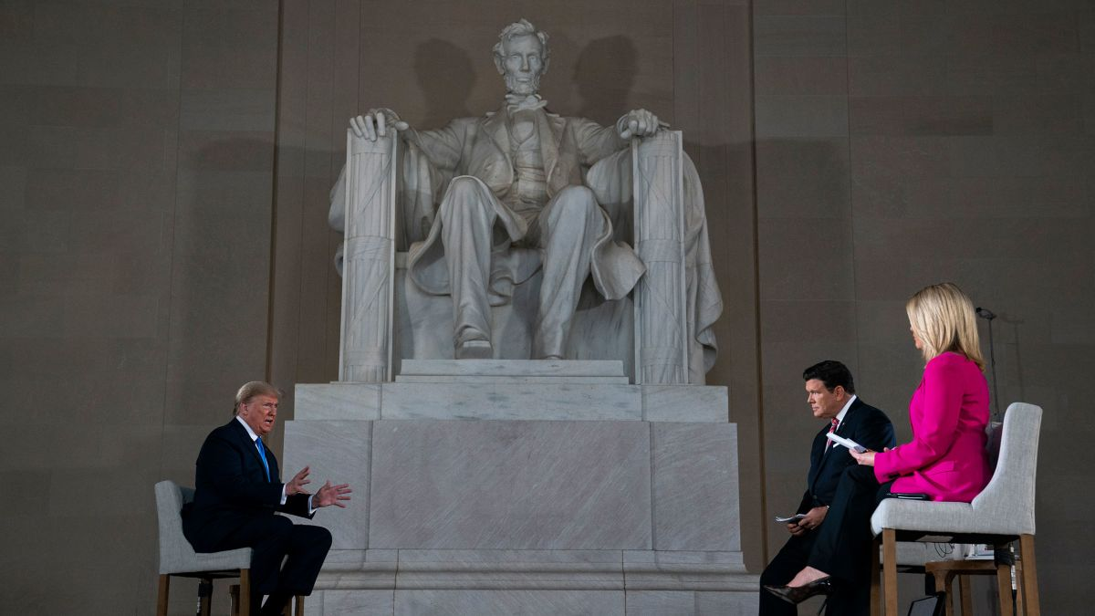 Donald Trump S Lincoln Memorial Fox Town Hall The 45 Most Shocking Lines Cnnpolitics