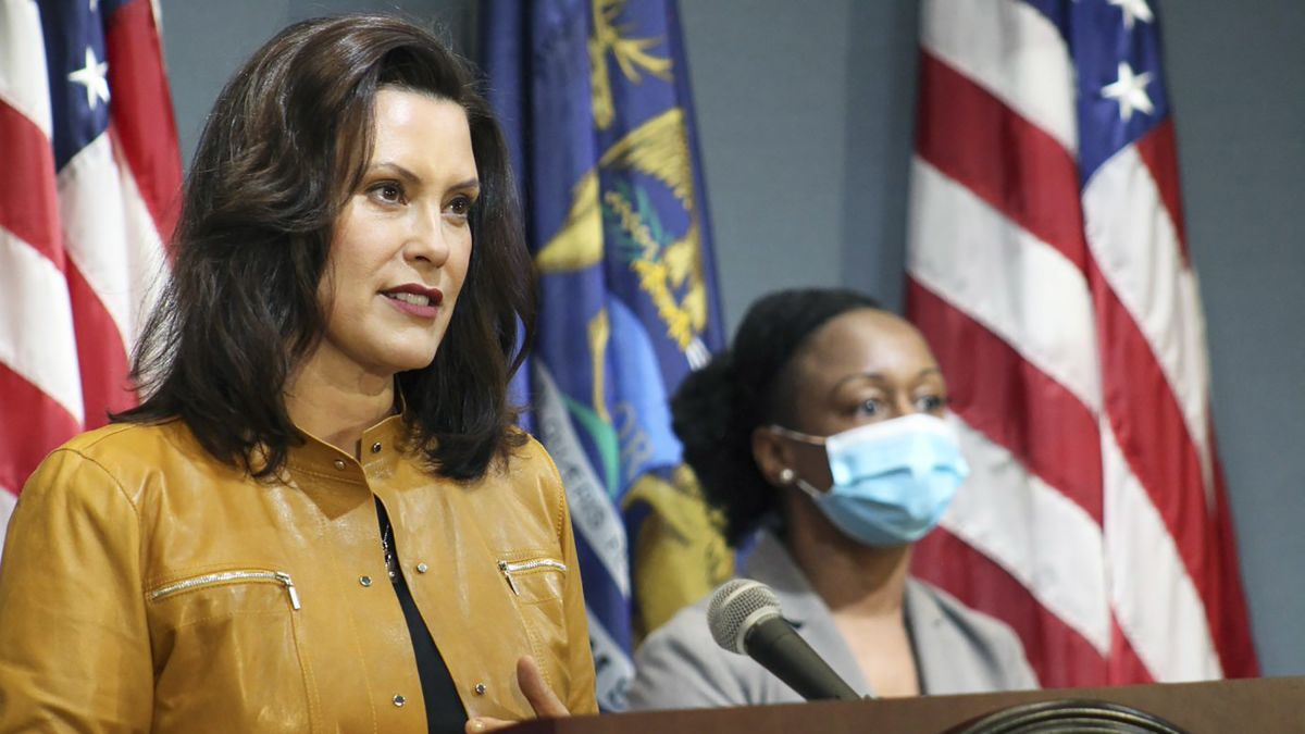 Whitmer Faces Backlash Over Husband S Failed Attempt At Humor About Their Boat Cnnpolitics