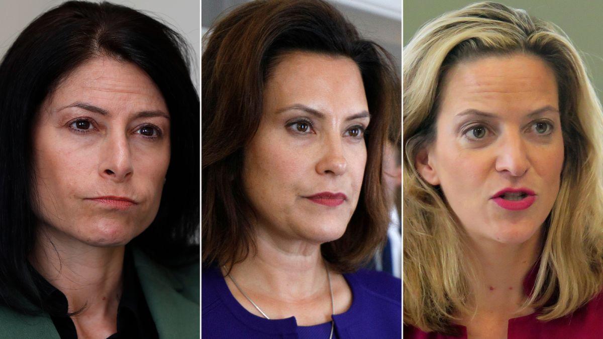 Trump battles with Michigan's female Democratic leaders in key 2020 swing  state - CNNPolitics