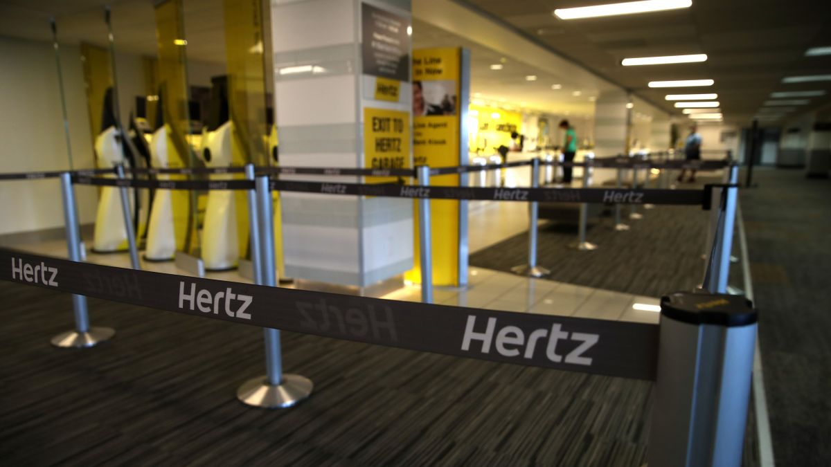 Hertz Files For Bankruptcy Cnn