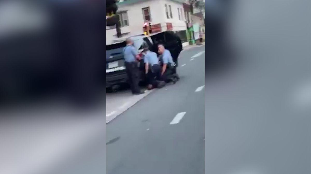 Video Appears To Show 3 Officers Kneeling On George Floyd Cnn