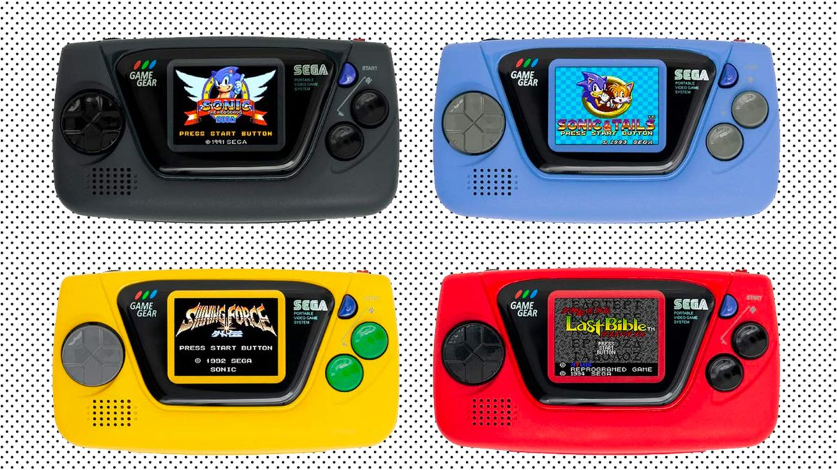 Sega S Game Gear Micro Is A Tiny Blast From The Past Cnn Underscored