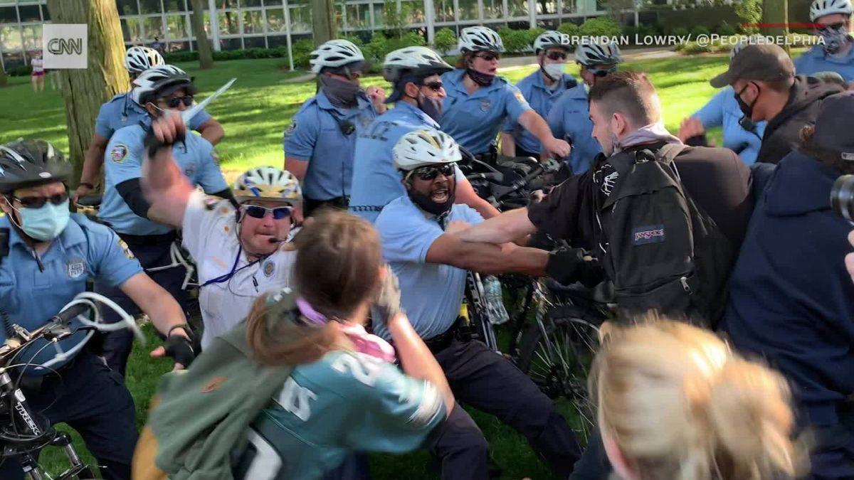 Protests against Philadelphia police