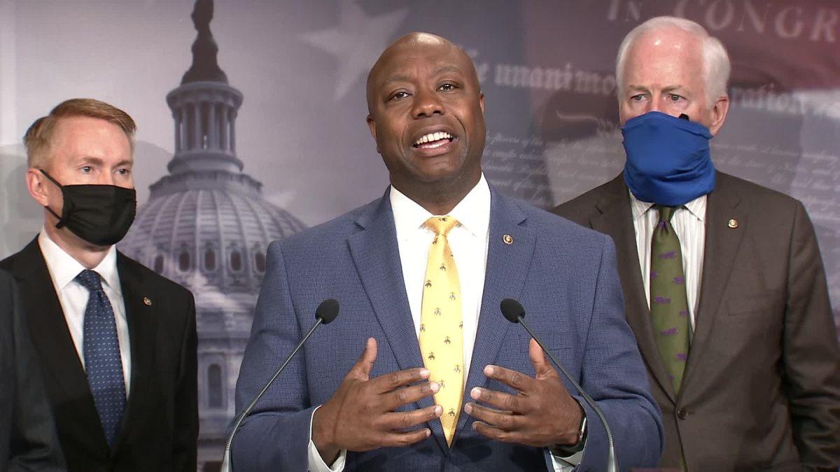 Sen. Scott breaks down GOP police reform bill - CNN Video
