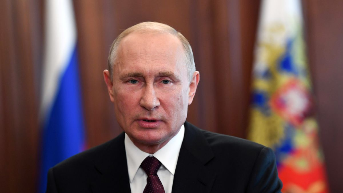 Vladimir Putin Russian Voters Overwhelmingly Back A Ploy By President To Rule Until 2036 Cnn