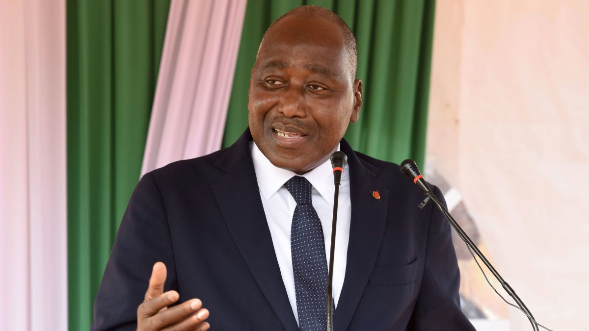 IMG AMADOU GON COULIBALY, Ivorian Politician, Prime Minister of Côte d'IvoireAMADOU GON COULIBALY, Ivorian Politician, Prime Minister of Côte d'Ivoire