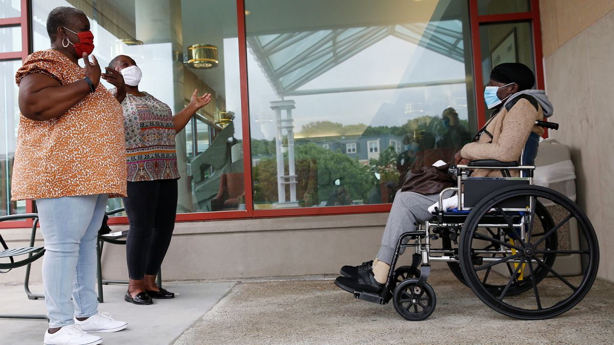 Visits To Nursing Homes Resume In Half Of Us States To The Relief