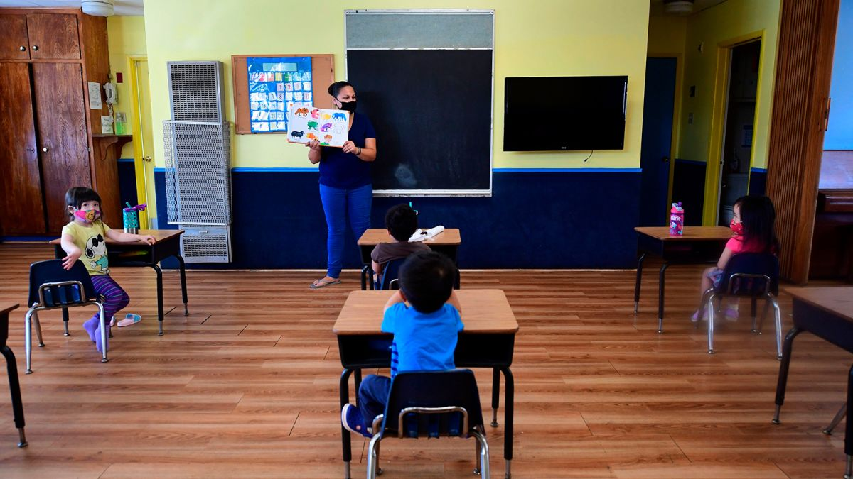 States Struggle With Reopening Of Schools Cnn