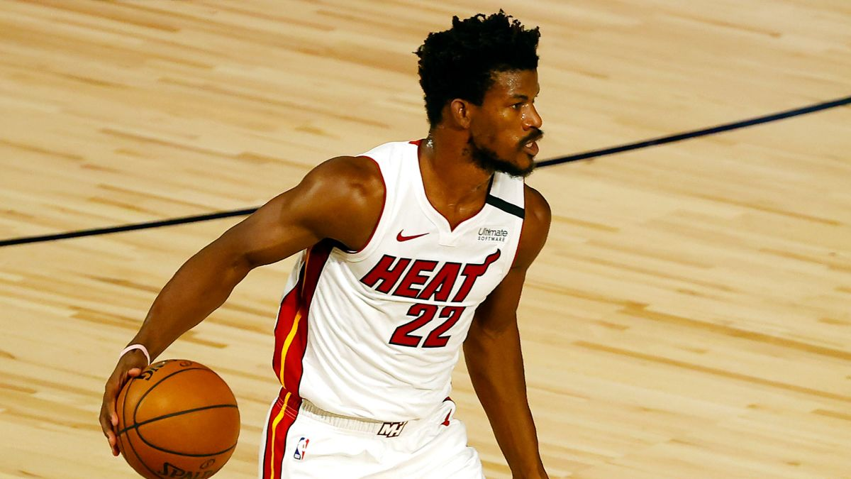Jimmy Butler Forced To Change Nameless Jersey Prior To Tip Off Against Denver Nuggets Cnn