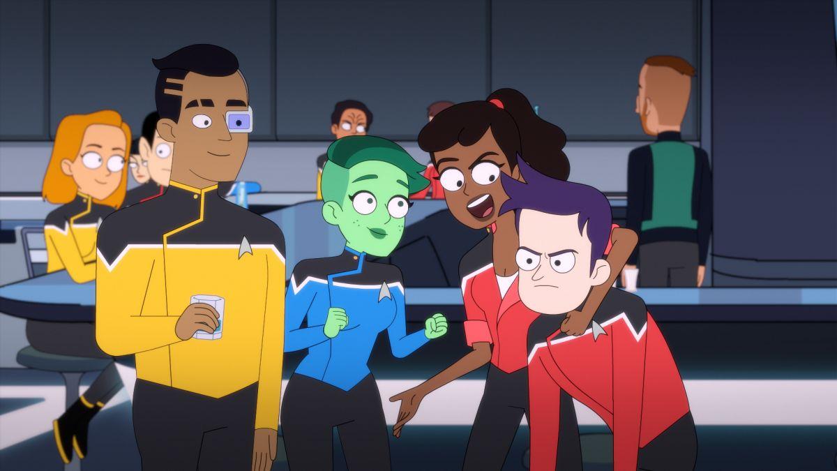 Star Trek: Lower Decks' review: An animated series explores a sillier side  of the Trek frontier - CNN