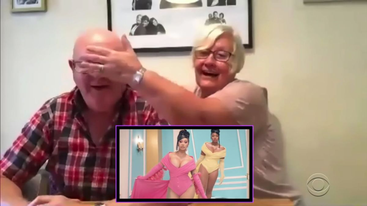 Late-night host has parents review racy new Cardi B video