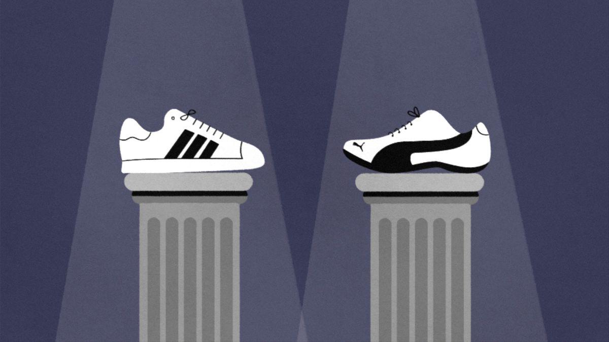 The sibling rivalry behind Adidas