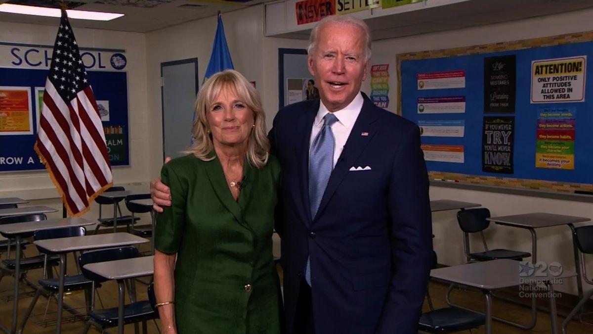 Joe Biden Jill Biden Tells America Her Husband Can Heal A Divided Country As He Formally Becomes The Democratic Presidential Nominee Cnnpolitics