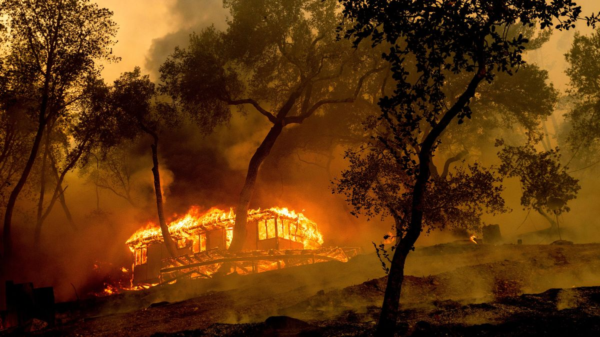 Here's where wildfires are in the US - CNN