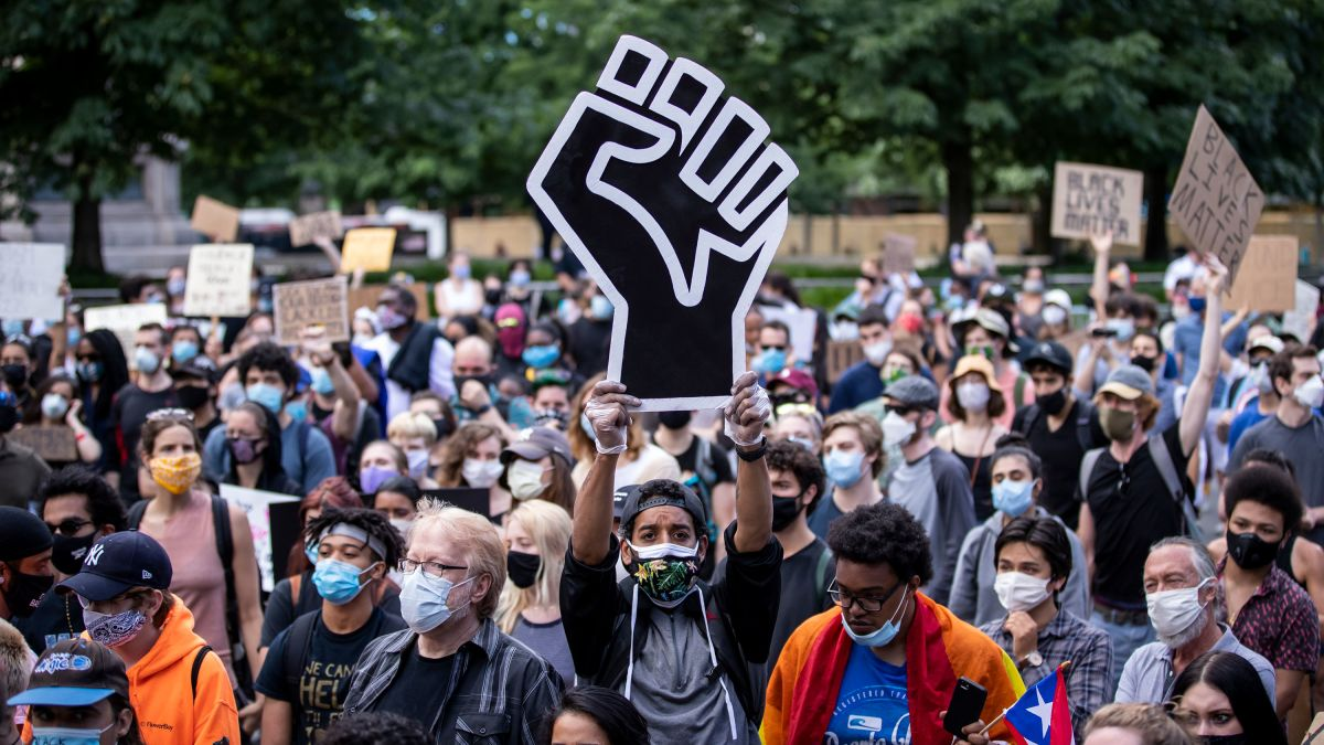 About 93% of racial justice protests in the US have been peaceful, a new  report finds - CNN