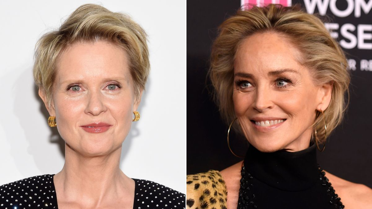 Cynthia Nixon On Sharon Stone Potentially Replacing Kim Cattrall In Sex And The City 3 Cnn