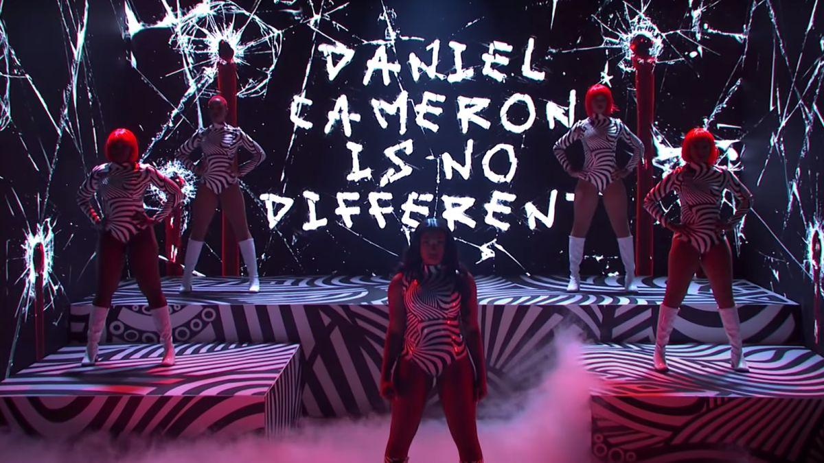 Megan Thee Stallion slammed Kentucky AG Daniel Cameron on her 'SNL'  performance for his decision in the Breonna Taylor case - CNN