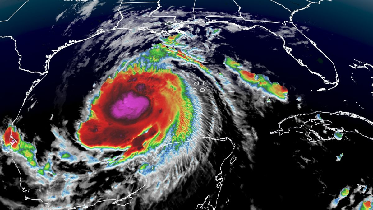 Tropical Update: Hurricane Delta restrengthens into a Category 2 hurricane  - CNN Video