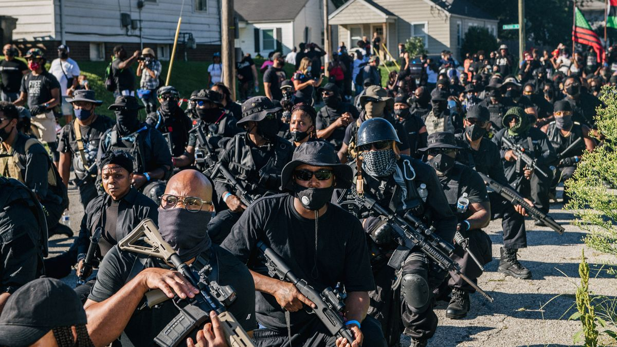 NFAC, Intriguing Look at An All-Black Militia Group 3/22/21