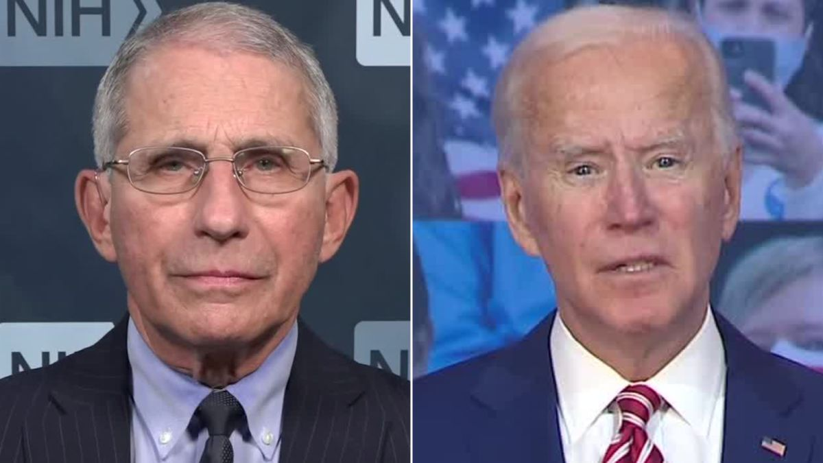Joe Biden Asks Dr. Anthony Fauci to Become his Chief Medical Adviser