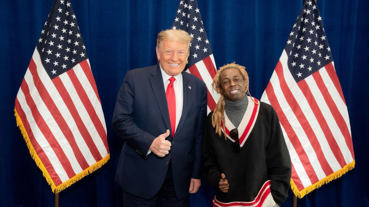 Lil Wayne met with Trump and praised the President's plan for Black  Americans - CNNPolitics