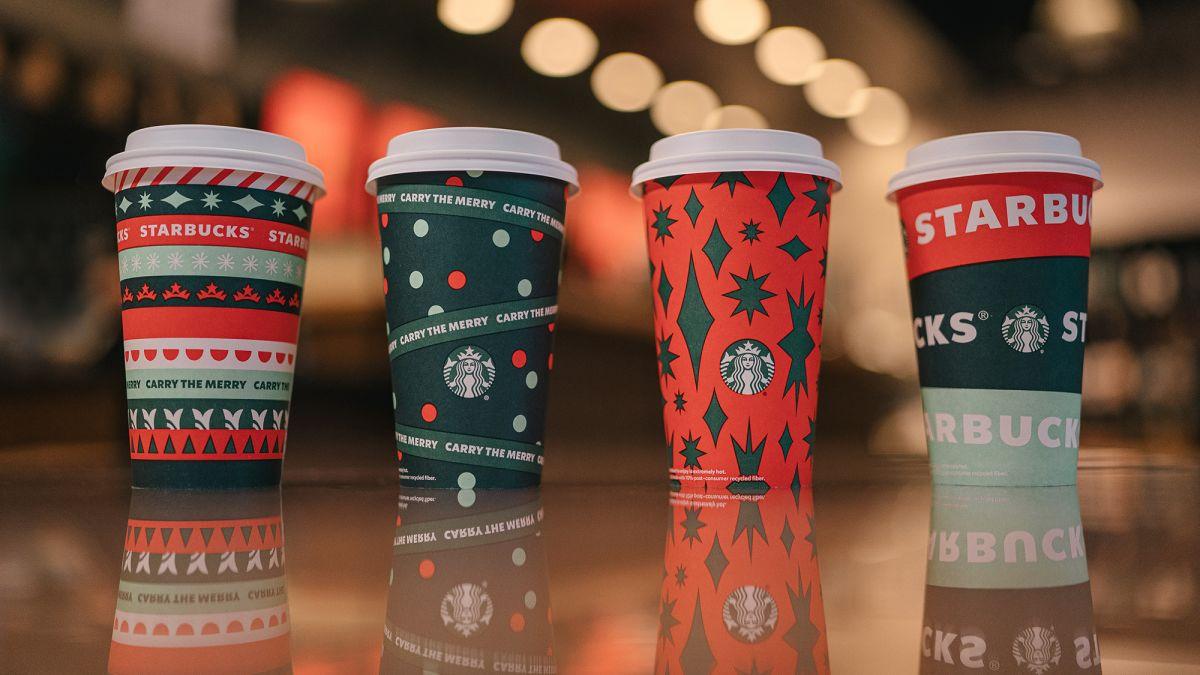 Starbucks Seasonal Drinks Calendar 2022.Here S What This Year S Starbucks Holiday Cups Look Like Cnn