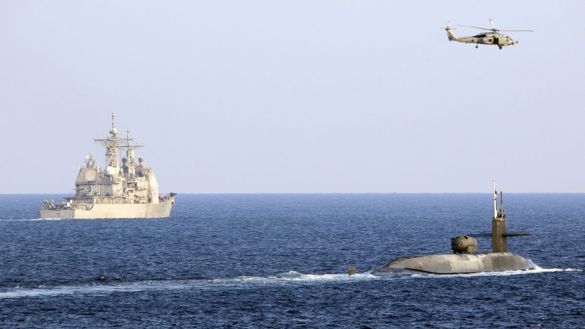 U.S. Navy Sails Nuclear Submarine Through Strait of Hormuz Amid Tensions With Iran