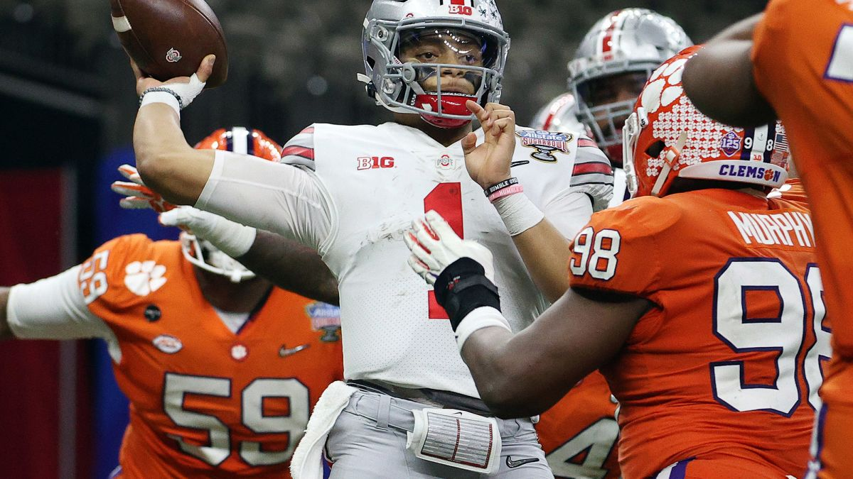 Ohio State Crushes Clemson Will Face Alabama In College Football Playoff National Championship Game Cnn