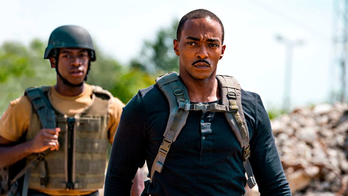 Outside the Wire' review: Anthony Mackie stars in a sci-fi movie that  thinks inside the box - CNN