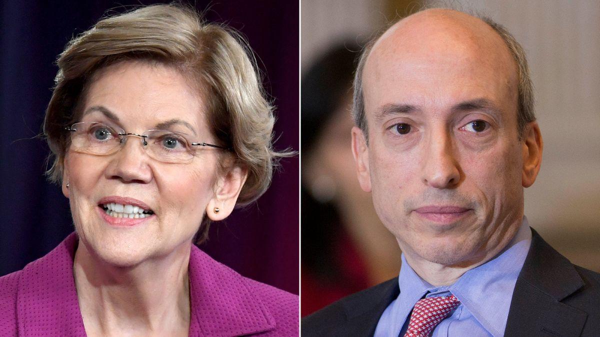 Wall Street has a new top cop. And Elizabeth Warren is a big fan of him -  CNN