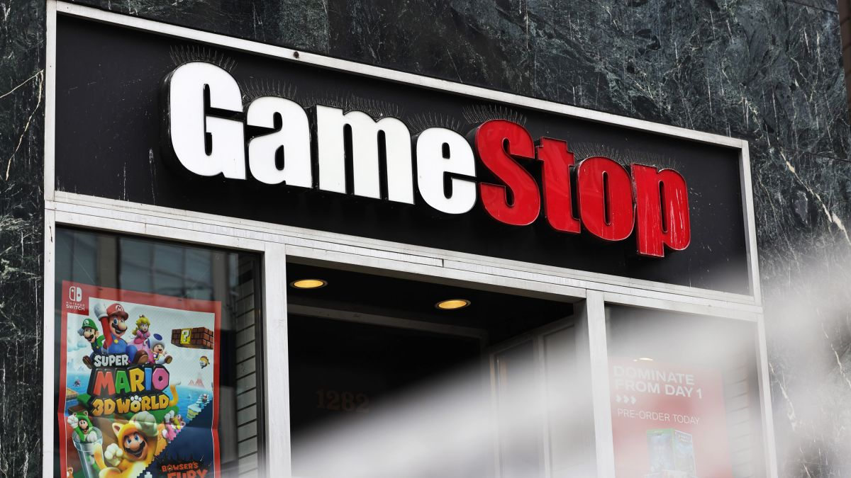 cnn.com - By Clare Duffy, CNN Business  - GameStop shares surge more than 100%