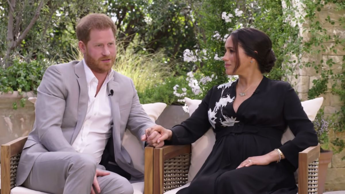 Prince Harry in Oprah interview compares 'unbelievably tough' royal split  to Diana's experience - CNN