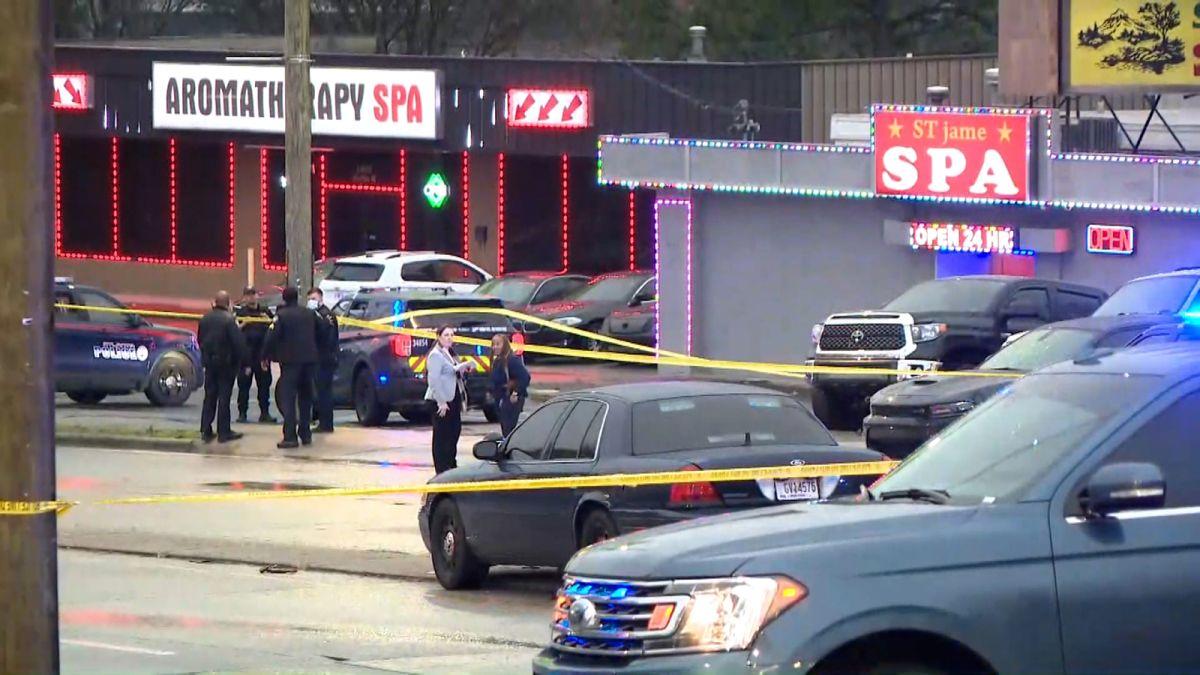 8 Killed In Shootings At 3 Metro Atlanta Spas Police Have 1 Suspect In Custody Cnn