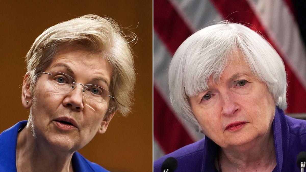 Elizabeth Warren grills Janet Yellen over 'too-big-to-fail' BlackRock - CNN