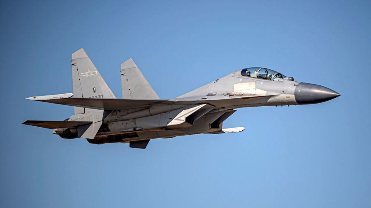 25 Chinese warplanes enter Taiwan defense zone