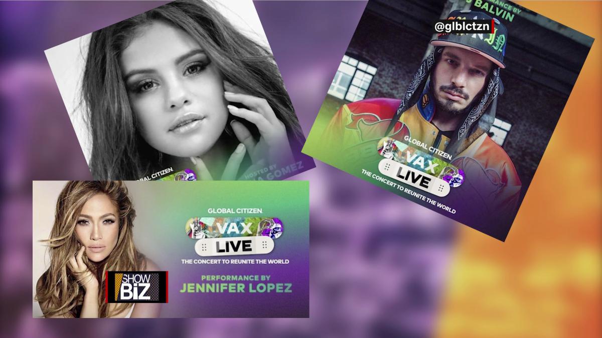 Selena Gómez, JLo y J Balvin promueven concierto provacunación - CNN Video