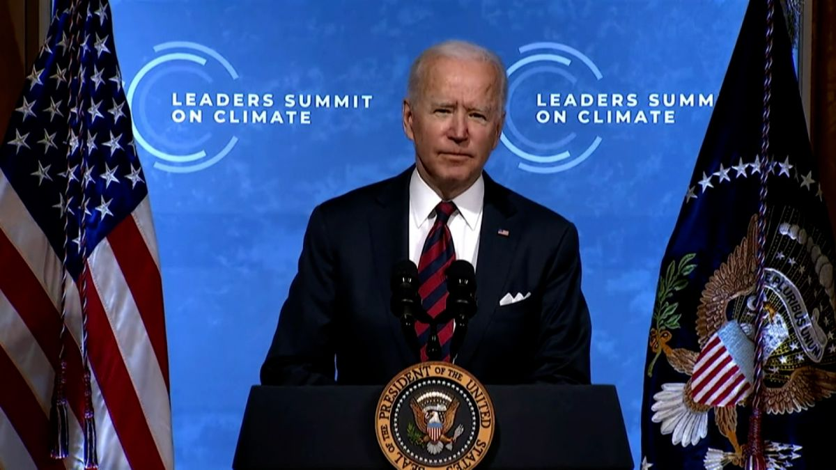 Biden opens global climate summit: 'This is a moral imperative' - CNN Video