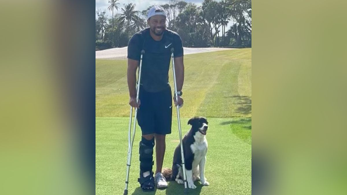 Tiger Woods shows crutches in first Instagram photo of himself since the  crash - CNN