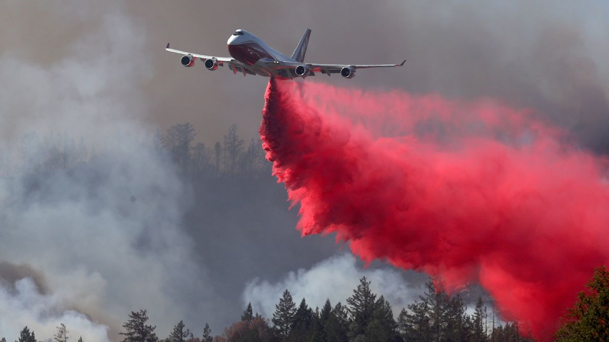 World's largest firefighting plane grounded as the West braces for another  destructive wildfire season - CNN
