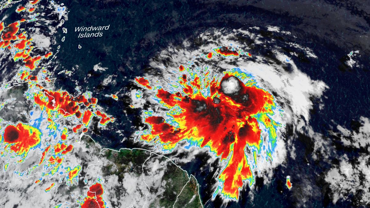 Tropical Storm Elsa Menaces the Caribbean on Its Way to the Southeast US