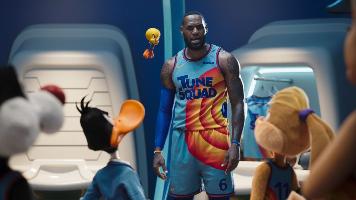 Space Jam: A New Legacy' review: LeBron James tries on Michael Jordan's  shoes in a numbing animated/live-action mix - CNN